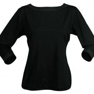 LADIES ARGENT TOP 3/4S - 1259Q - Black