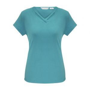 Ladies Lana Short Sleeve Top