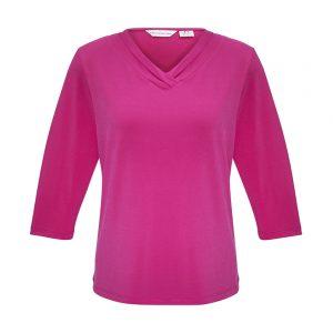 Ladies Lana 3/4 Sleeve Top