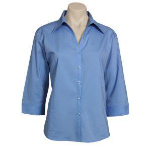 Ladies Metro 3/4 Sleeve Shirt