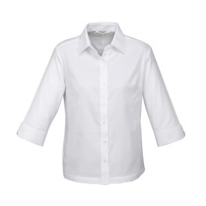 Ladies Luxe 3/4 Sleeve Shirt