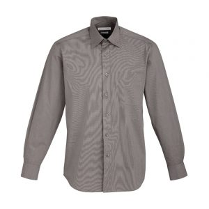 Mens Chevron Long Sleeve Shirt