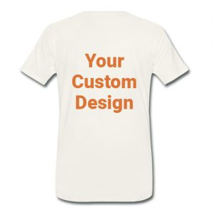 TShirt with your custom design
