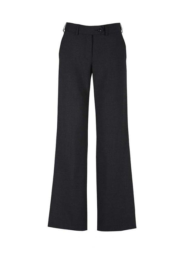 Womens Adjustable Waist Pant - Black