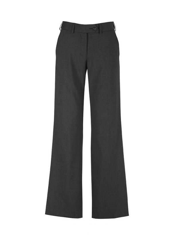 Womens Adjustable Waist Pant - Charcoal
