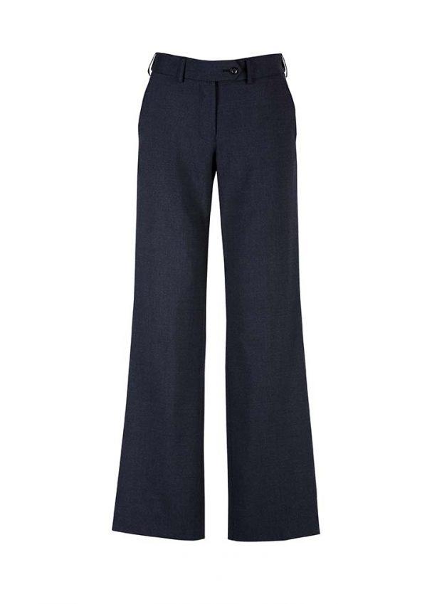 Womens Adjustable Waist Pant - Navy