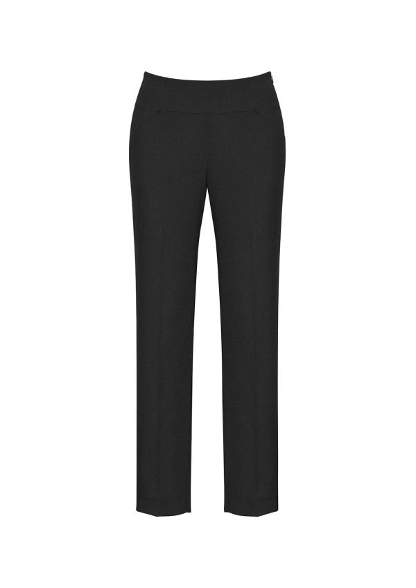 Womens Bandless Slim Leg Pant - Black