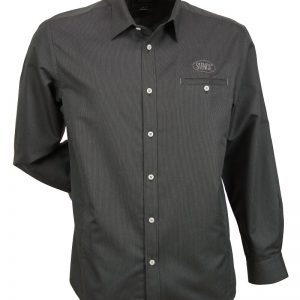 MENS EMPIRE SHIRT L/S - 2031 - Charcoal/Grey