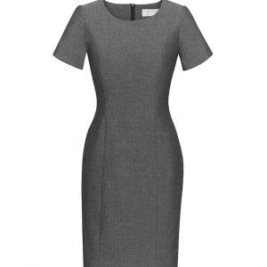 Womens Short Sleeve Dress - Grey