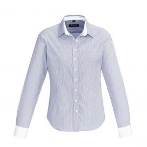 Womens Fifth Avenue Long Sleeve Shirt - Patriot Blue