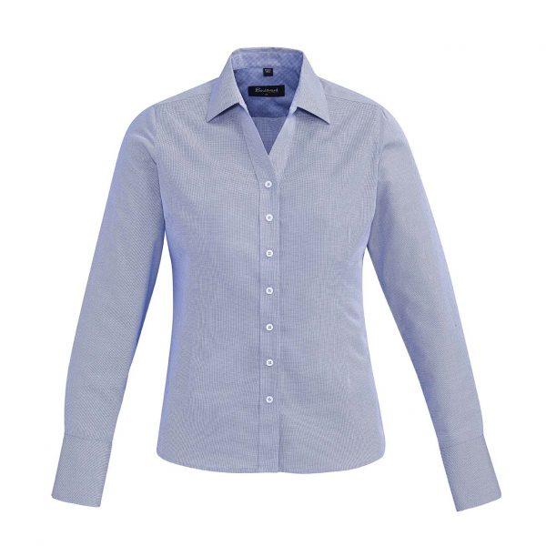 Womens Hudson Long Sleeve Shirt - Patriot Blue