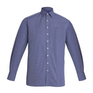 Mens Oscar Long Sleeve Shirt - Marine