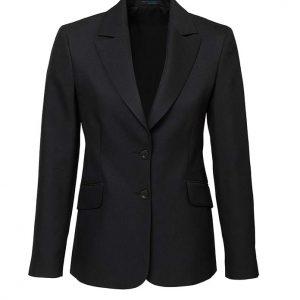 Womens Longline Jacket - Black