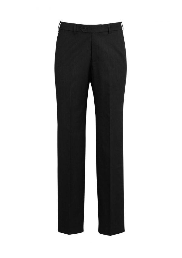 Mens Adjustable Waist Pant Stout - Black