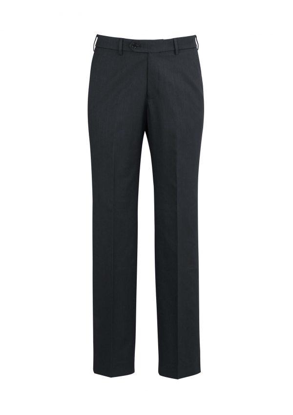 Mens Adjustable Waist Pant Stout - Charcoal