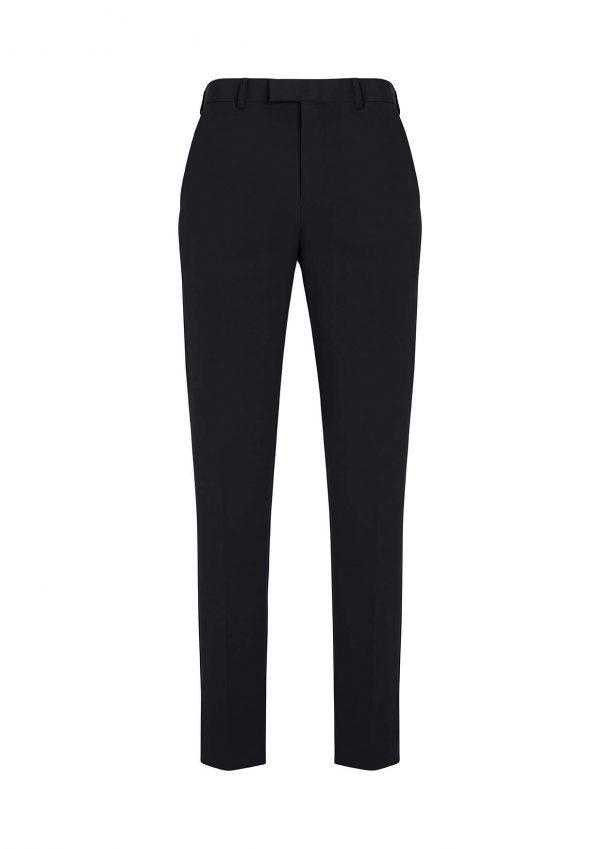 Mens Slim Fit Flat Front Pant Regular - Black
