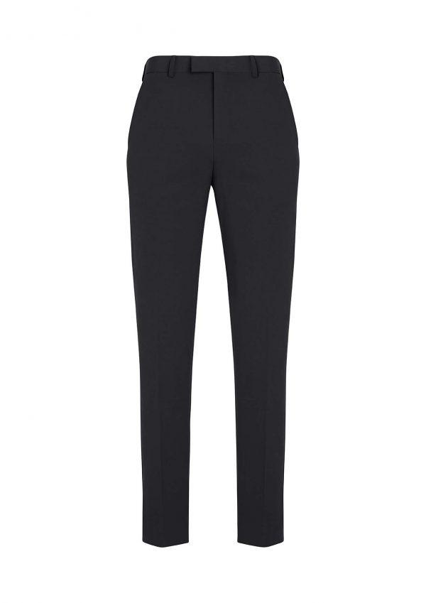Mens Slim Fit Flat Front Pant Regular - Slate