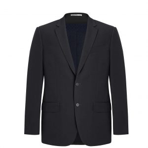 Mens City Fit Two Button Jacket - Slate