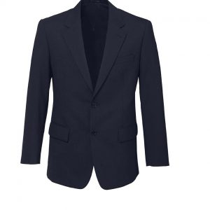 Mens 2 Button Jacket - Navy