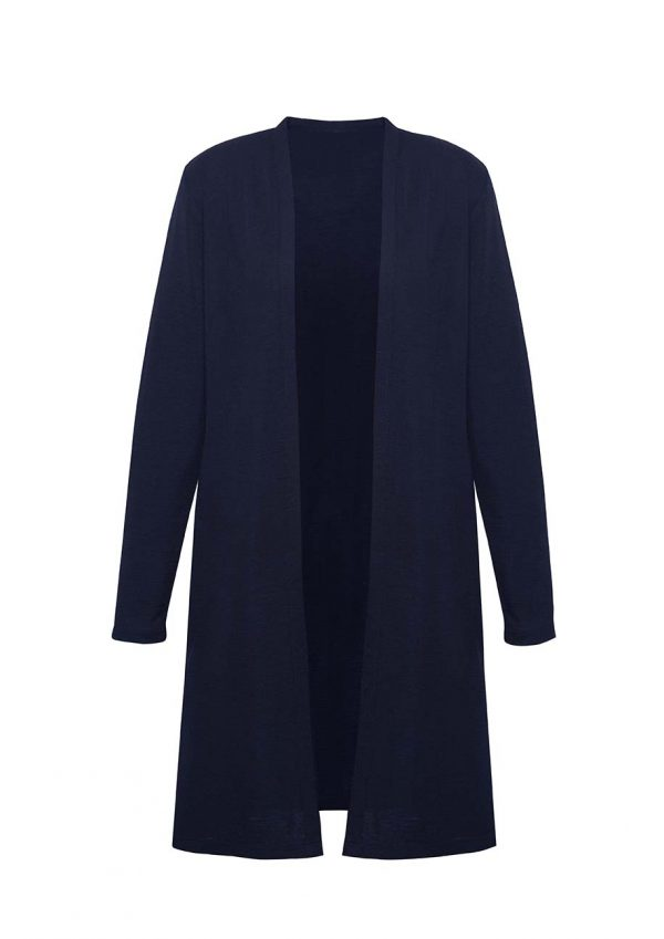 Womens Chelsea Long Line Cardigan - Navy