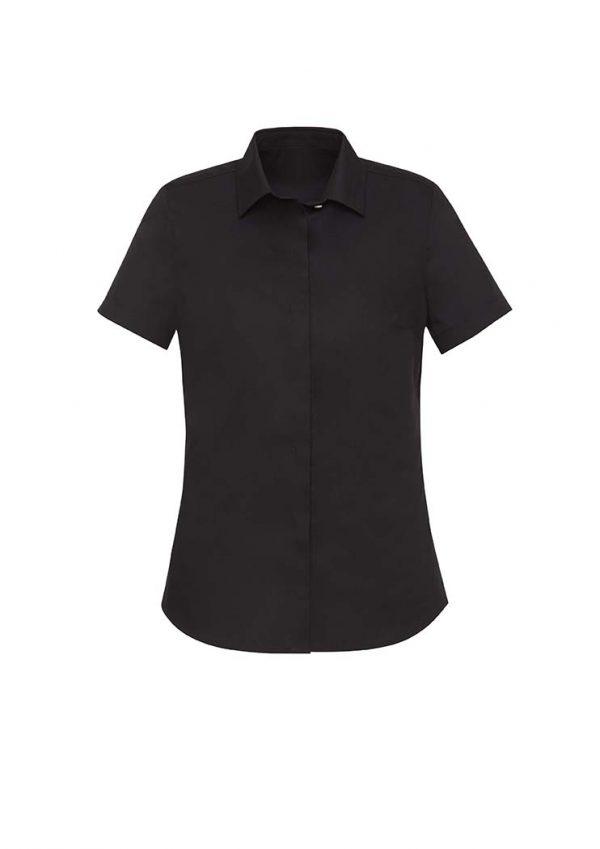Womens Charlie S/S Shirt - Black