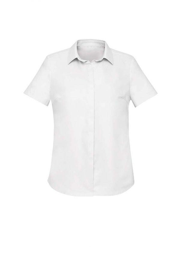 Womens Charlie S/S Shirt - White