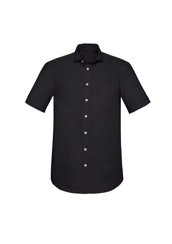 Mens Charlie Classic Fit S/S Shirt - Black