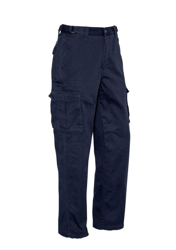 Mens Basic Cargo Pant (Stout) - Navy