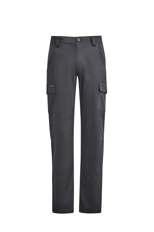 Mens Lightweight Drill Cargo Pant - Charcoal