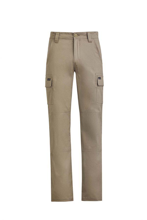 Mens Lightweight Drill Cargo Pant - Khaki
