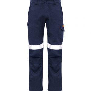 Mens Taped Cargo Pant - Navy