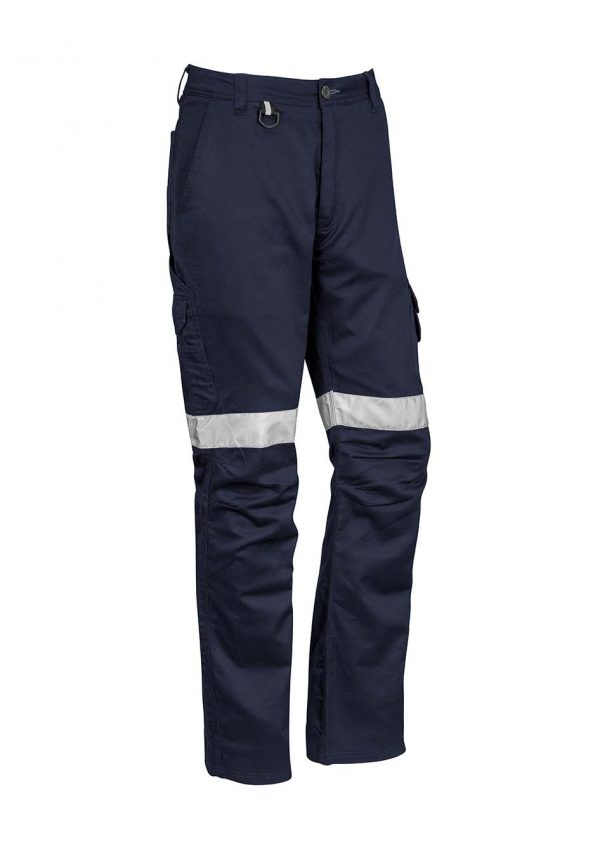 Mens Rugged Cooling Taped Pant - Navy