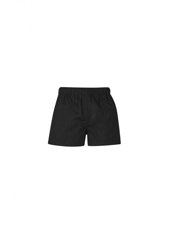 Mens Rugby Short - Black