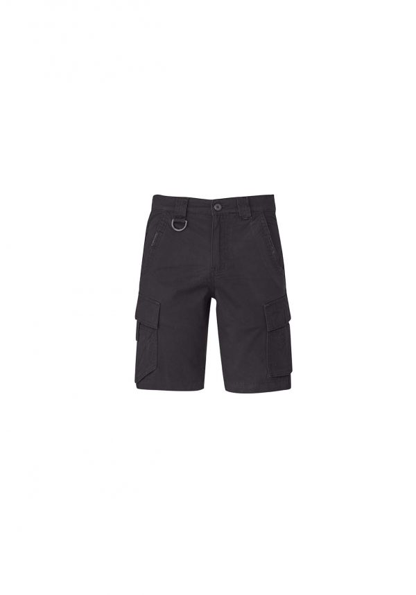 Mens Streetworx Curved Cargo Short - Charcoal