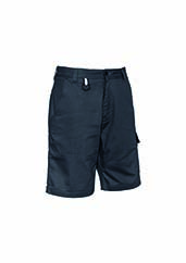 Mens Rugged Cooling Vented Short - Charcoal