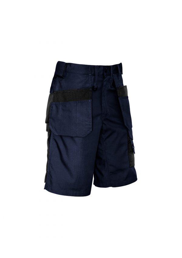 Mens Ultralite Multi-pocket Short - Navy/Black