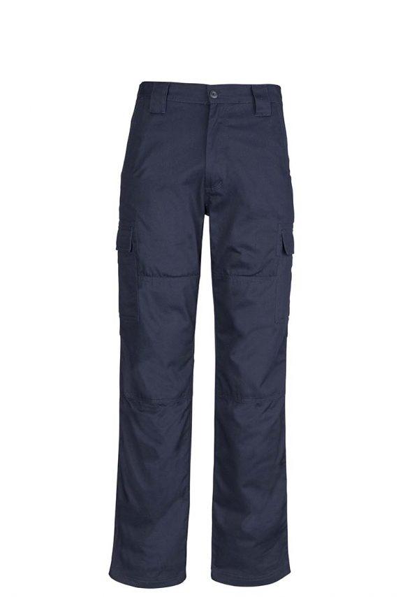 Mens Midweight Drill Cargo Pant (Regular) - Navy