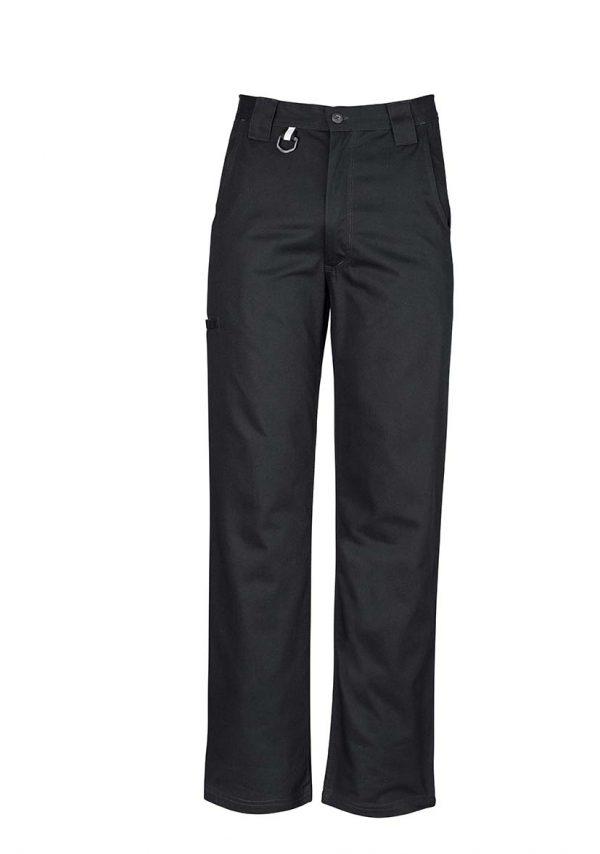 Mens Plain Utility Pant - Black