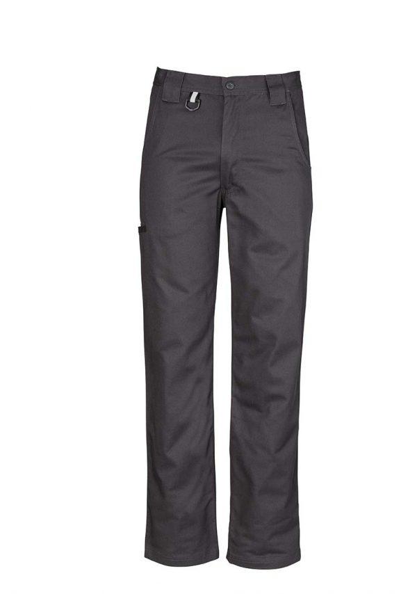Mens Plain Utility Pant - Charcoal