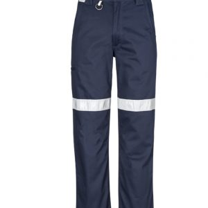 Mens Taped Utility Pant (Stout) - Navy