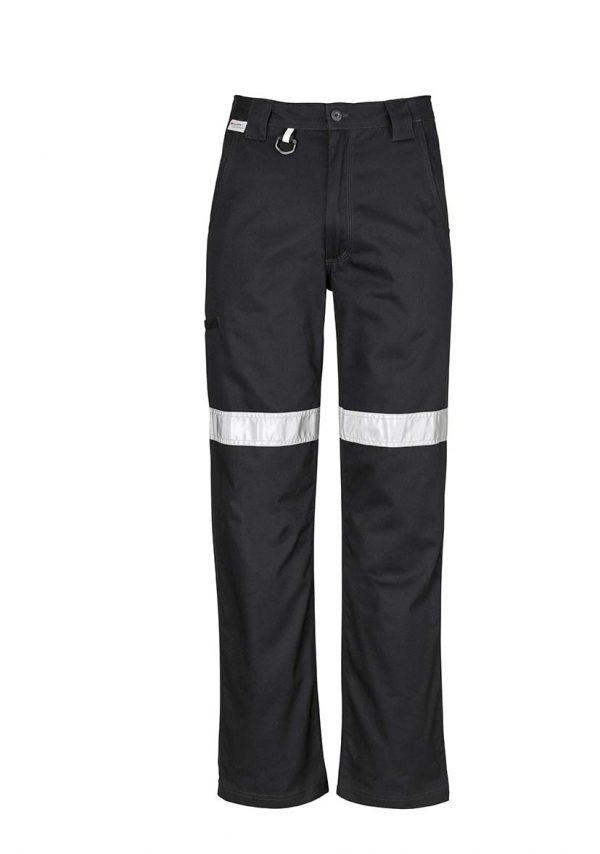 Mens Taped Utility Pant (Regular) - Black