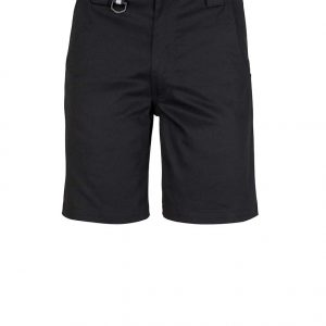 Mens Plain Utility Short - Black