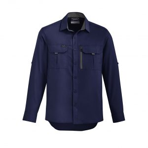 Mens Outdoor L/S Shirt - Navy