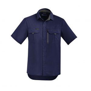 Mens Outdoor S/S Shirt - Navy