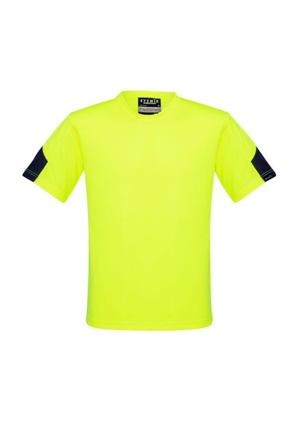 Mens Hi Vis Squad T-Shirt - Yellow