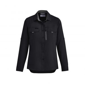 Womens Outdoor L/S Shirt - Black