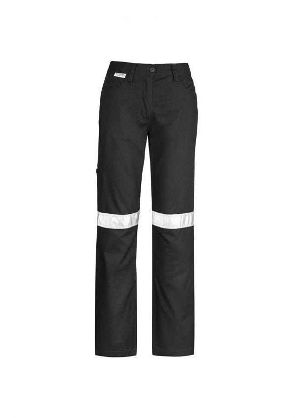Womens Taped Utility Pant - Black