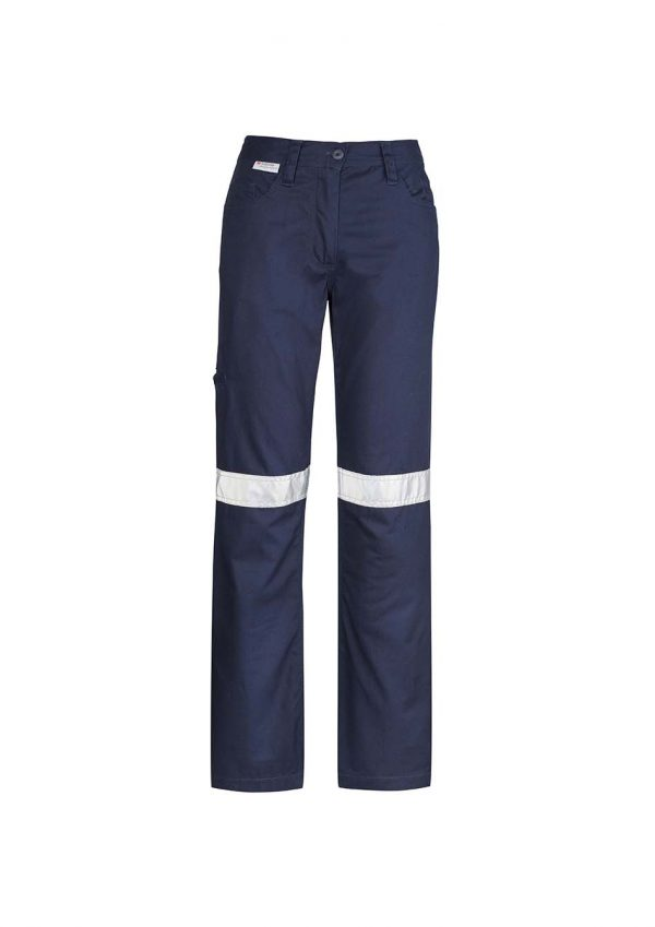 Womens Taped Utility Pant - Navy