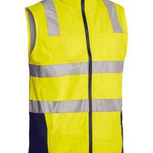 Taped Hi Vis Soft Shell Vest – BV0348T