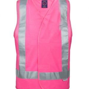 Day / night vest with 3M 8910 reflective tape - RM4245T